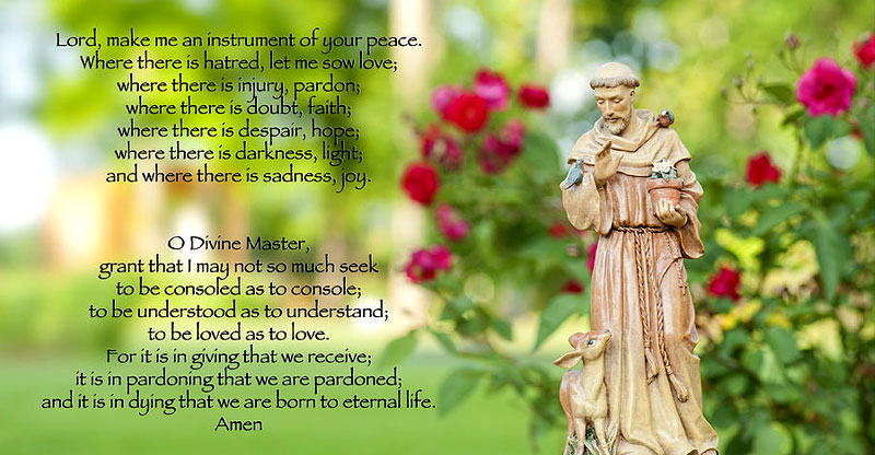 St Francis of Assisi Prayer and its Significance