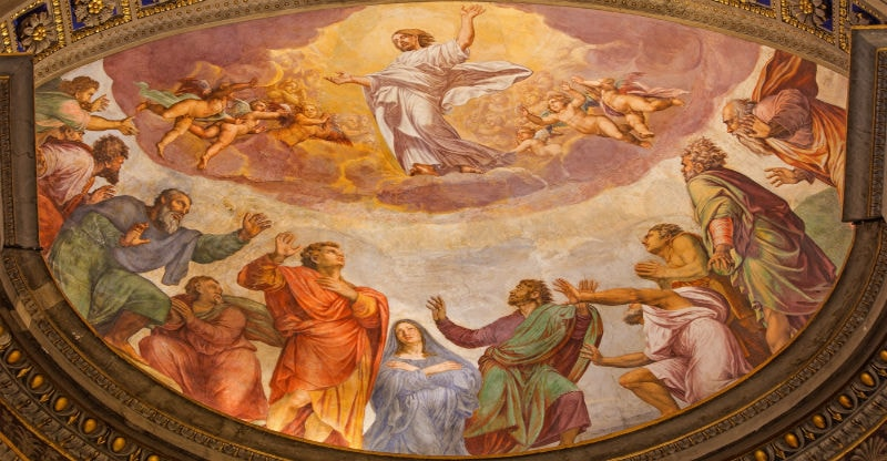 The Ascension of Jesus Christ into Heaven and its significance